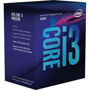 Processeur Intel Core i3-8100 Coffee Lake (3.6 Ghz) - LGA 1151