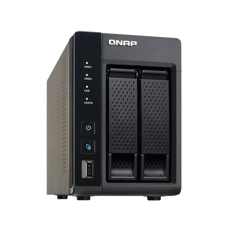 NAS Qnap TS-269L 2 baies - USB 3.0, eSATA, HDMI (Reconditionnée - 30€ crédités en SuperPoints)