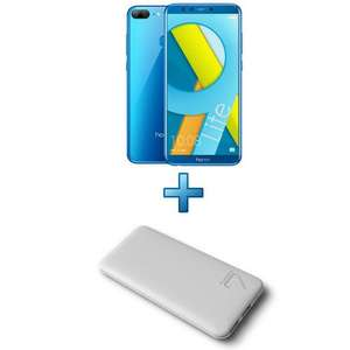"""Smartphone 5.65"""" Honor 9 Lite - Kirin 659, RAM 3Go, 32Go (Bleu) + Coque transparente + Batterie externe 6600mAh (via ODR de 30€)"""