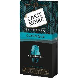 3 boites de capsules carte noire de 10 capsules N7, 9 et Lungo (Via BDR de 1.7€)