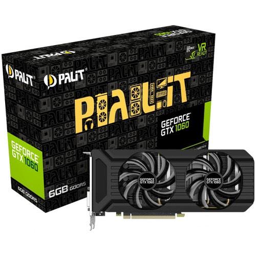 Carte graphique Palit GeForce GTX 1060 Dual - 6 Go