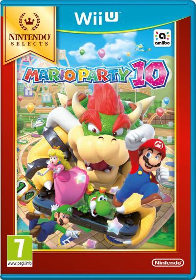 Mario Party 10 - Edition Select sur Nintendo Wii U (Micromania)