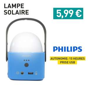Lampe baladeuse solaire Philips