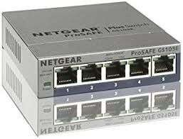 Switch manageable Netgear GS105Ev2 - 5 ports