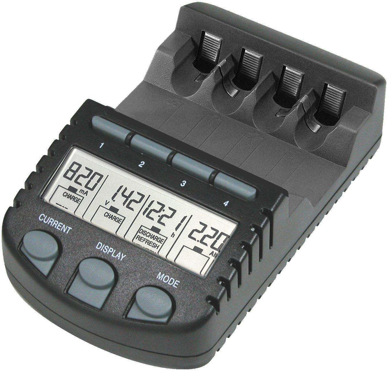 Chargeur de piles La Crosse Technology RS700UK-BLI (Prise UK et EU)