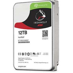 "Disque dur interne 3.5"" Seagate Iron Wolf ST12000VN0007 (NAS) - 12 To"