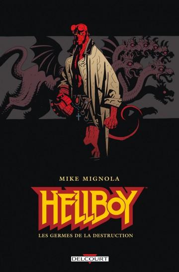 80% de réduction sur les 16 tomes numériques de Hellboy - Ex : T.1 - Les germes de la destruction