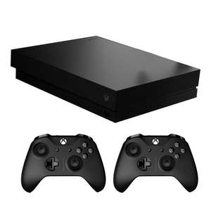 Console Microsoft Xbox One X + 2 Manettes (Store Suisse)