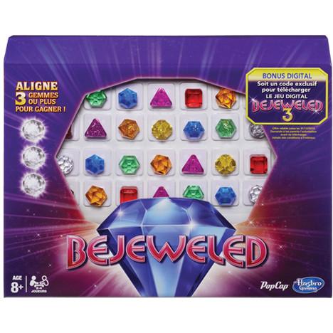 Jeu de société Bejeweled Hasbro (Avec ODR de 50%)