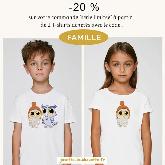 20% de réduction dès 2 articles Série limité achetés + Livraison gratuite (josette-la-chouette)