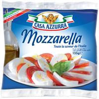 2 Mozzarella Azzurra (avec BDR)