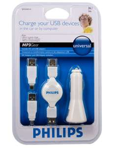 Kit Chargeur USB - Allume cigare Philips SJM2204H/10