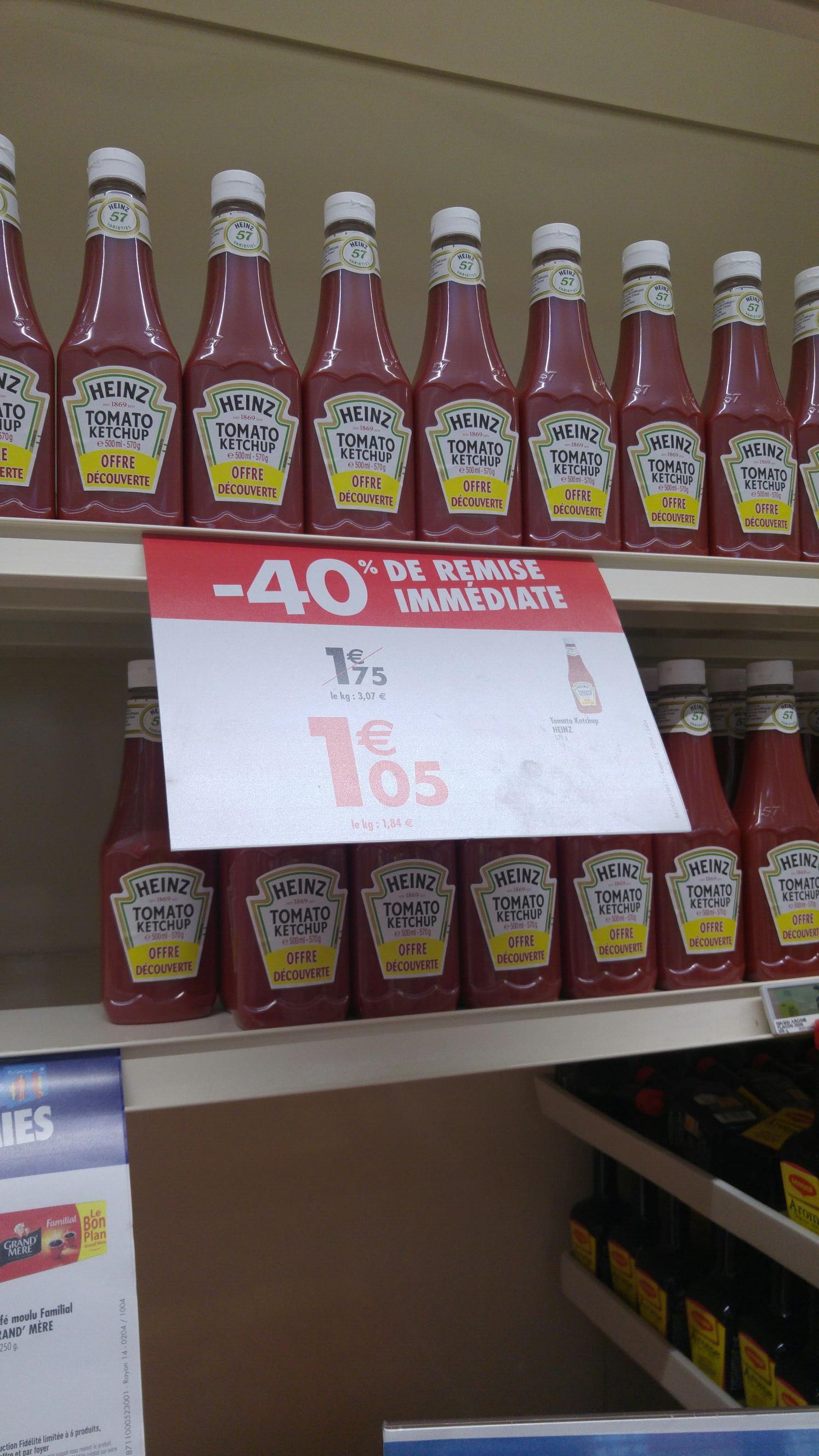 Ketchup Heinz 500 ml (570 g)