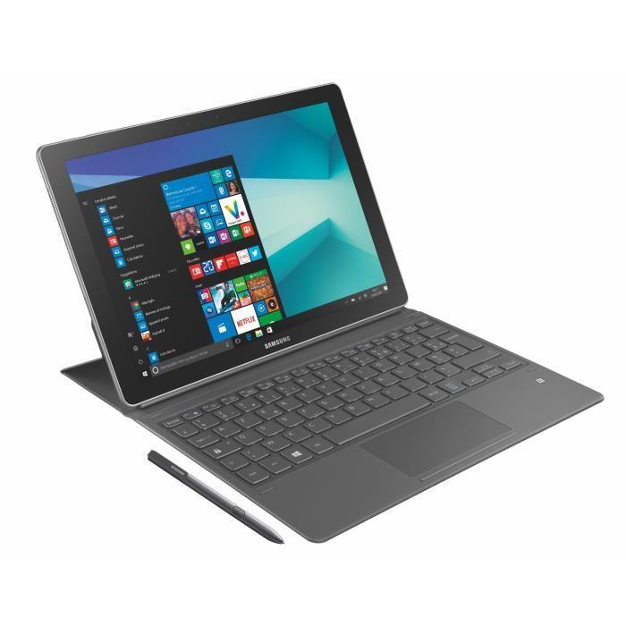"[Cdiscount à volonté] PC portable 2-en-1 12"" Samsung Galaxy Book - OLED (2160 x 1440), i5-7200U, RAM 4 Go, SSD 128 Go, Windows 10 + Book Cover et S pen (via ODR 150€)"