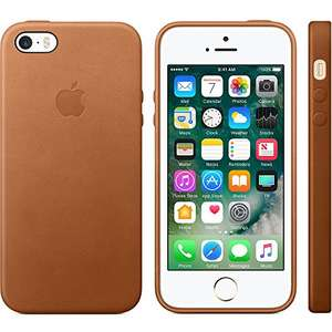 Coque de protection en cuir Apple originale pour Iphone 5/5S/5SE