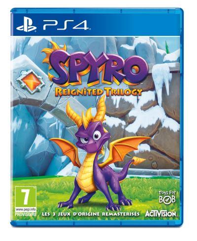 [Précommande] Spyro Reignited Trilogy sur PS4 et Xbox One (+10€ en chèque cadeau pour les adhérents)