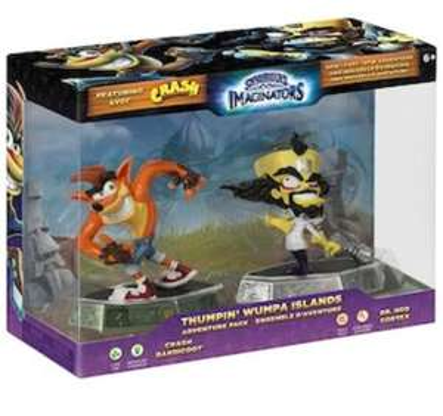 Jeu Skylanders Imaginators - Adventure Pack - Crash Bandicoot