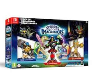 Pack de démarrage Skylanders Imaginators sur Nintendo Switch