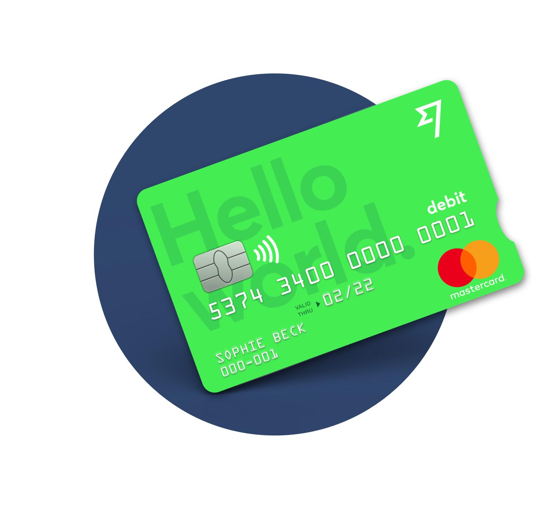 Carte de débit MasterCard Transferwise gratuite sur invitation
