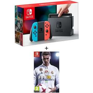 Pack Console NIntendo Switch + Fifa 18