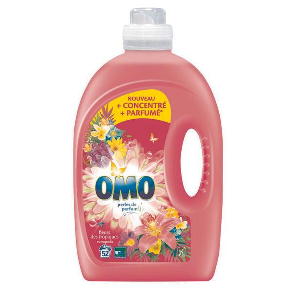 Lessive Liquide Omo Fleurs des Tropiques et Magniola - 2.6L (via 7.66€ sur la carte fidélité et BDR de 1.80€)