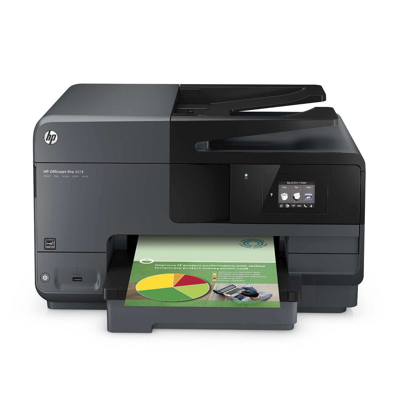 15% de réduction sur une sélection d'imprimantes HP - Ex: Imprimante 4 en 1 HP Officejet Pro 8615