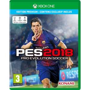 Pro Evolution Soccer 2018 - Edition Premium sur Xbox One