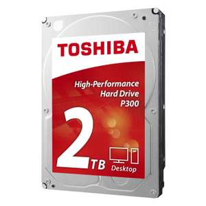 "Disque dur interne 3.5"" Toshiba P300 - 2 To (7200 trs/min)"