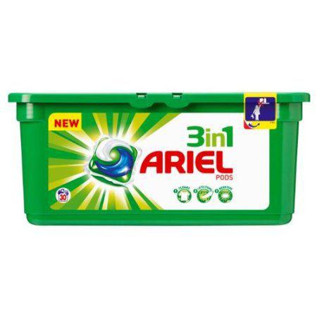 Une boîte de lessive Dash ou Ariel (19 pods) gratuite