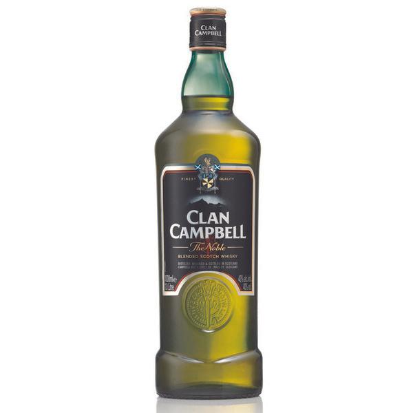 1 Bouteille de Scotch Whisky Clan Campbell - 1L (via 7,18€ sur la carte Fidélité)