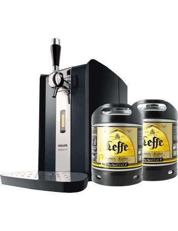 Tireuse à bière Perfectdraft HD 3620 + Deux fûts 6L Leffe Blonde