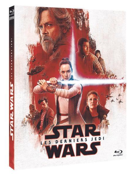 Blu-ray Star Wars 8 - Les Derniers Jedi