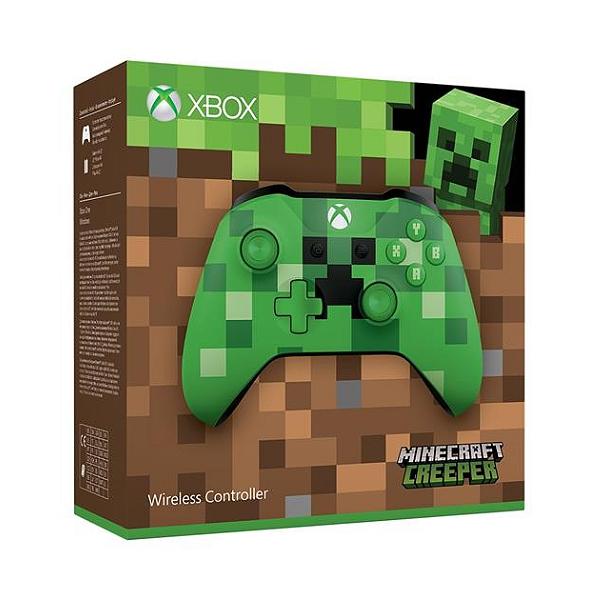 Sélection de Manette sans-fil pour Microsoft Xbox One - Ex: Edition Spéciale Minecraft à 40.98€