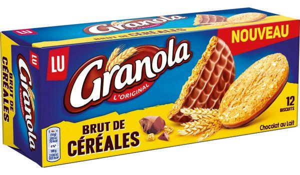 2 Paquets de Biscuits Granola de LU (via BDR de 1.30€ )
