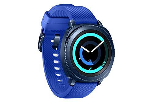 Montre connectée Samsung Gear Sport Bleu nuit (Version espagnolle)