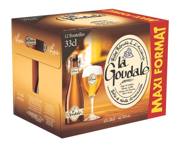 Pack de bières La goudale - 12 x 33cl (via 7.14€ sur la carte fidélité)