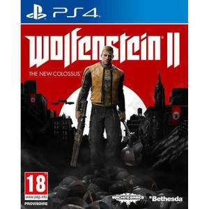 Wolfenstein II The New Colossus sur PS4 à 9.19€