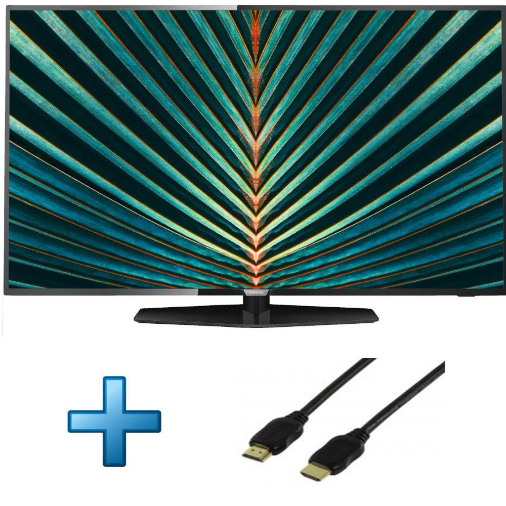 "TV 55"" Philips 55PUS6162 - LED, Ultra HD 4K, 700 Hz, PPI, HDR 10 + Câble HDMI 1.4"