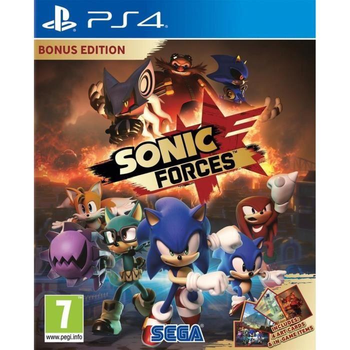 Sonic Forces Edition Bonus Sur PS4 (Vendeur Tiers)