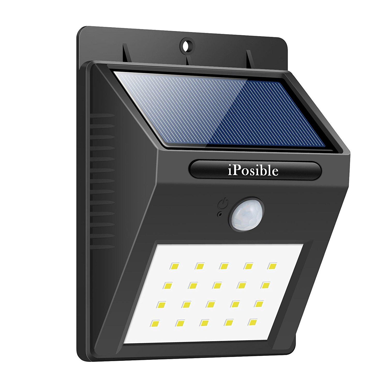 Lampe solaire d'extérieur à détecteur de mouvement - 20 LED (Vendeur Tiers)