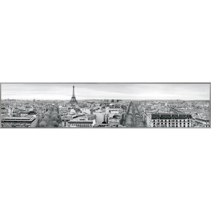 Tableau Déco Paris -120 x 25cm