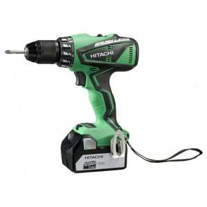 Perceuse visseuse Hitachi DV18DBEL4A - 18V, 2x 4AH Brushless (Debonix)