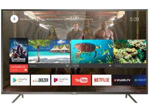 "TV LED 55"" TCL U55P6046 - 4K UHD, HDR - Smart T (+ 40 € en bon d'achat)"
