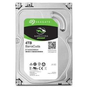 "Disque dur interne 3.5"" Seagate Barracuda - 4 To (5900 RPM)"