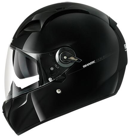 Casque Intégral Moto Shark Vision-R S2 Noir - Tailles au choix