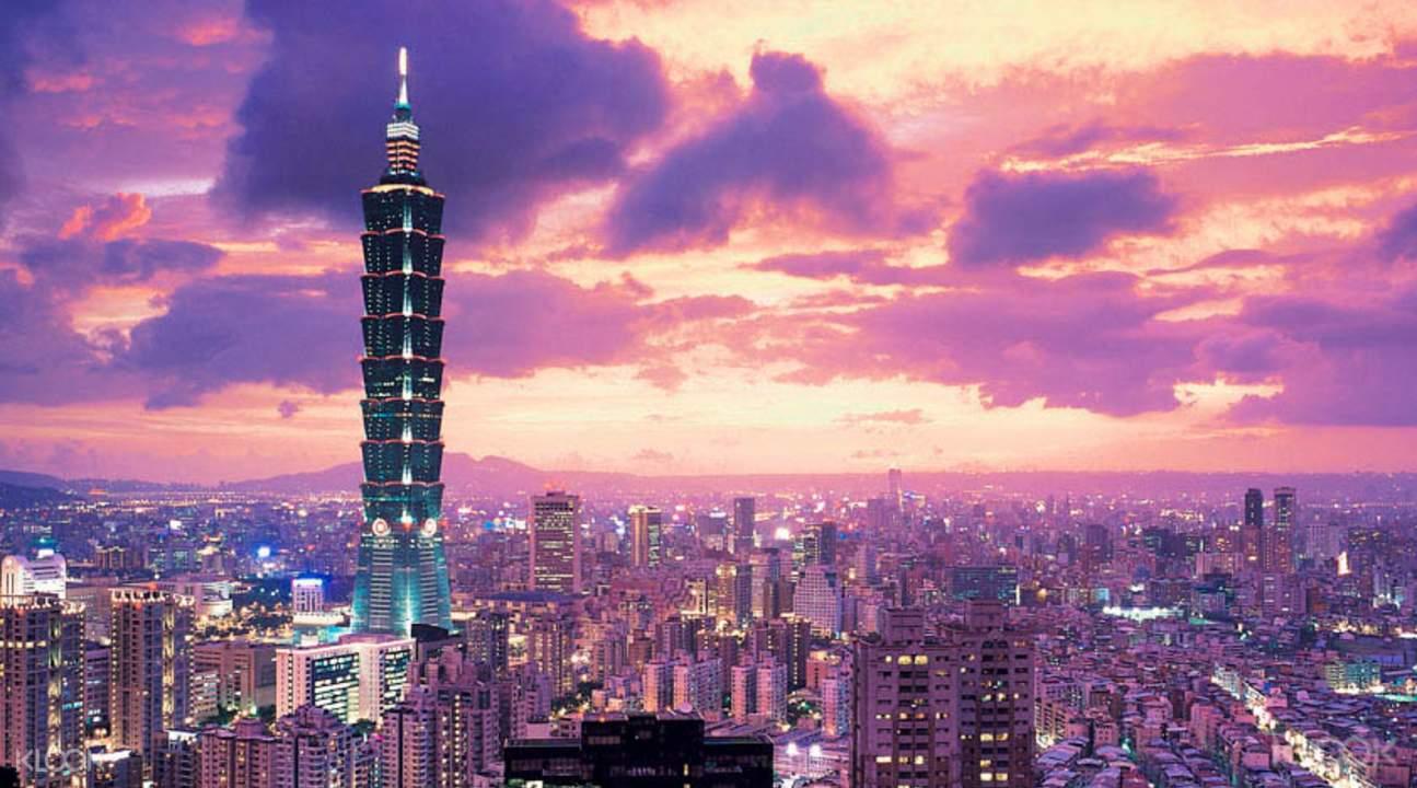 Vol A/R Paris - Taipei du 23 Mai au 31 Mai