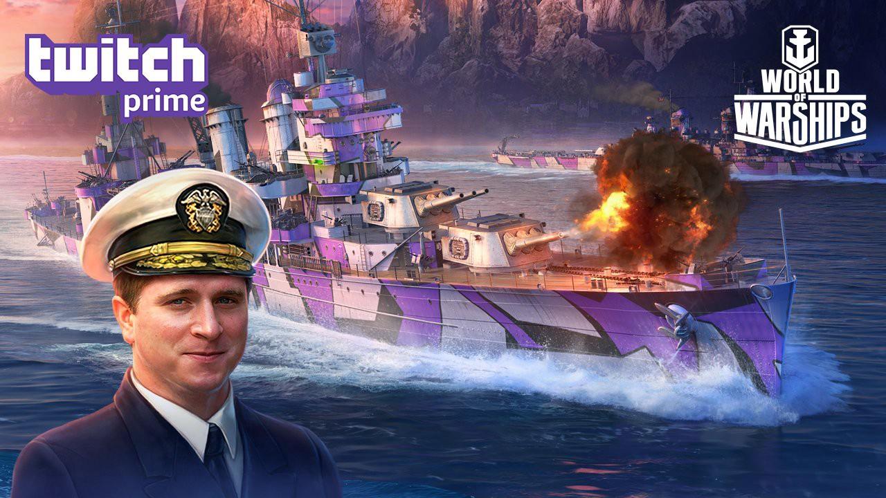 [Amazon Prime] DLC World of Warships : Conquête du Texas gratuit (Dématérialisé)