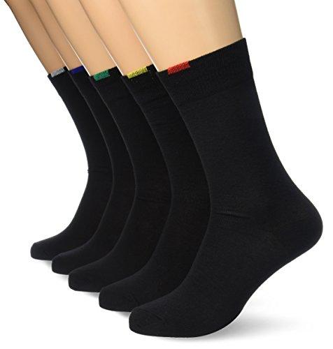 Lot de 5 paires de chaussettes noires DIM (39-42 et 43-46)