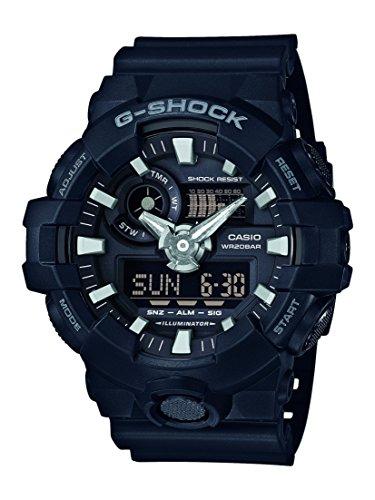 Montre sportive homme Casio G-Shock GA-700 - Noir