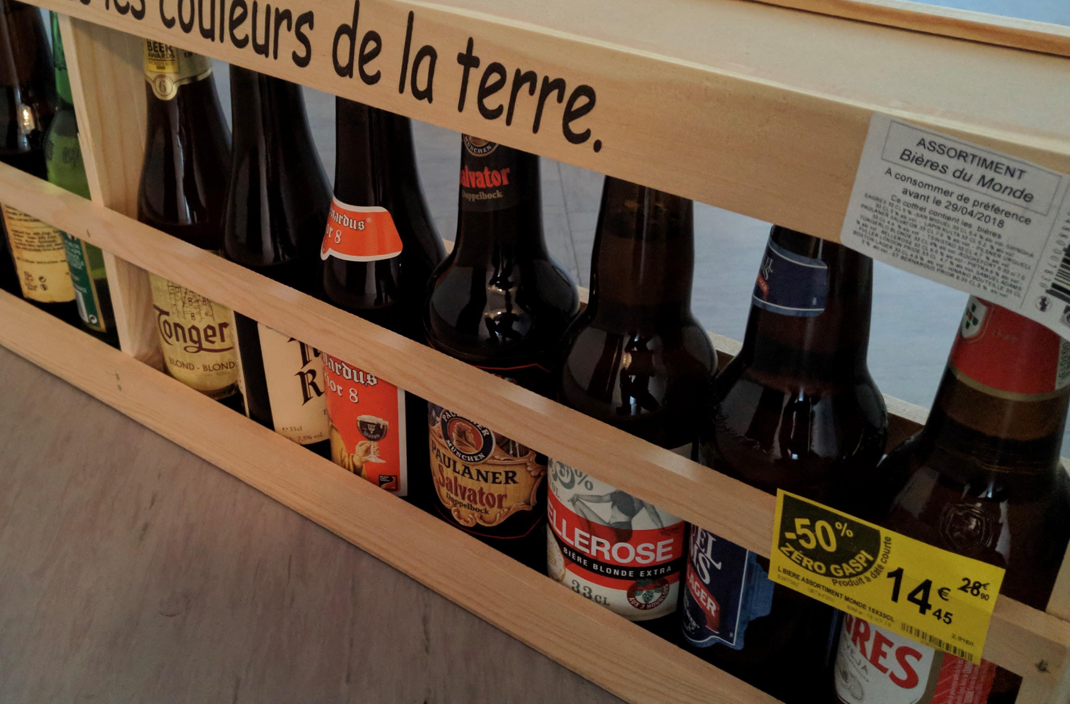 Déstockage Saint Patrick: Sélection de bières en promotion - Ex: Bières du Monde 15x33cl - Avignon (84)